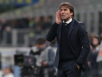 Antonio Conte, en un partido