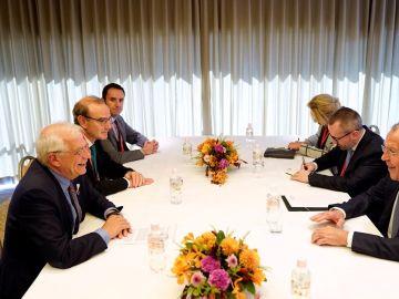 Reunión de Borrell con su homólogo ruso