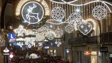 Luces de Navidad en Vigo