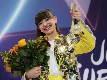 Viki Gabor, ganadora de Eurovisión Junior