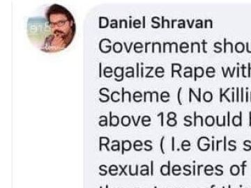 Comentario de Daniel Shravan
