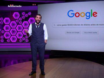 """Dani Mateo da ideas a los 'padres' de Google para que gasten sus millones: """"Un viaje a la luna o ir un día al cine"""""""
