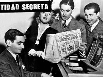 Irving Berlin al piano