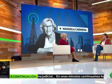 ¿Qué le parece a Carmena que Almeida hable de Madrid como una 'green capital' cuando quería revertir Madrid Central?