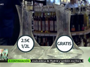 El negocio del agua del grifo filtrada: más de dos euros por medio litro
