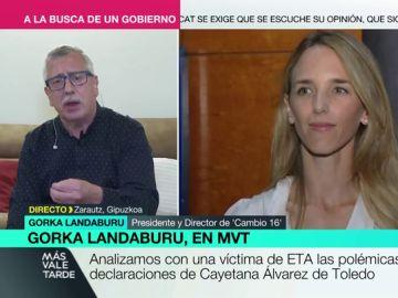 """Gorka Landaburu, víctima de ETA: """"Que Álvarez de Toledo venga a Euskadi para que le contemos lo que ha sido ETA"""""""