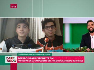 Zapeando conoce al equipo español de carreras de drones: así es el nuevo deporte que 'desplaza' a la Fórmula 1