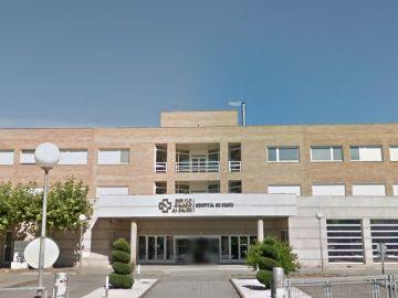Imagen de la fachada del Hospital de Verín