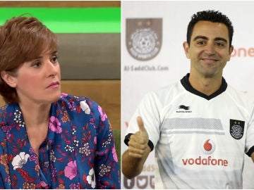 Anabel Alonso carga contra Xavi Hernández por sus palabras sobre Catar