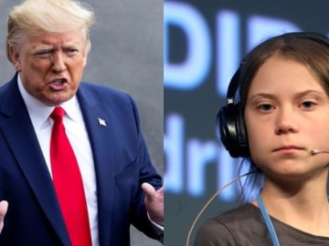 Donald Trump critia que 'Time' haya elegido a Greta Thunberg como persona del año