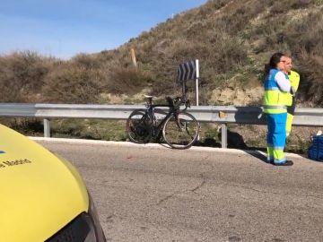 Muere un ciclista en Rivas tras ser atropellado