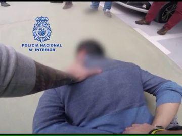 Graban la detención de tres narcotraficantes cuando pasaban 700 kilos de cocaína en Alcalá de Henares