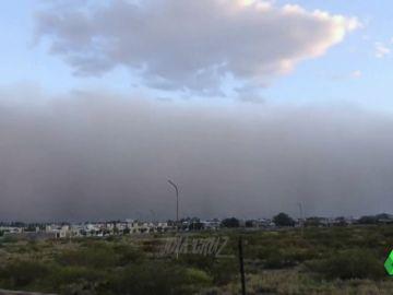 Una gran tormenta de arena y vientos de 100 kilómetros por hora deja dos muertos en Argentina