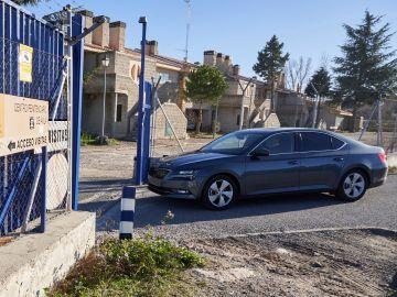 Vista de la llegada de Iñaki Urdangarin al Centro Penitenciario de Brieva (Ávila)