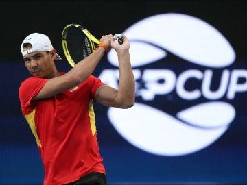 Rafa Nadal, en la ATP Cup