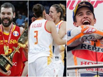 El deporte español, de celebración en 2019