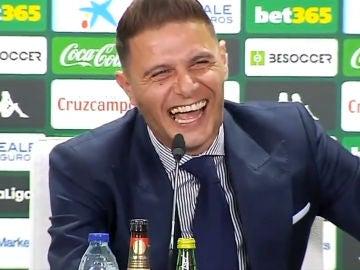 Joaquín, de risas