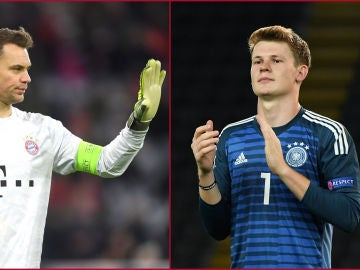 Manuel Neuer y Alexander Nübel