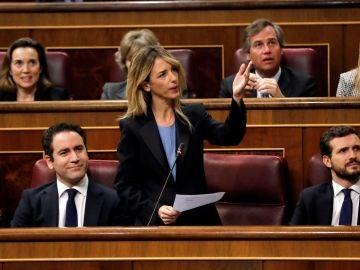 Cayetana Álvarez del Toledo en el Congreso
