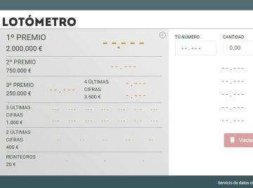 El Lotómetro de la Lotería del Niño 2021: así funciona el multicomprobador de laSexta