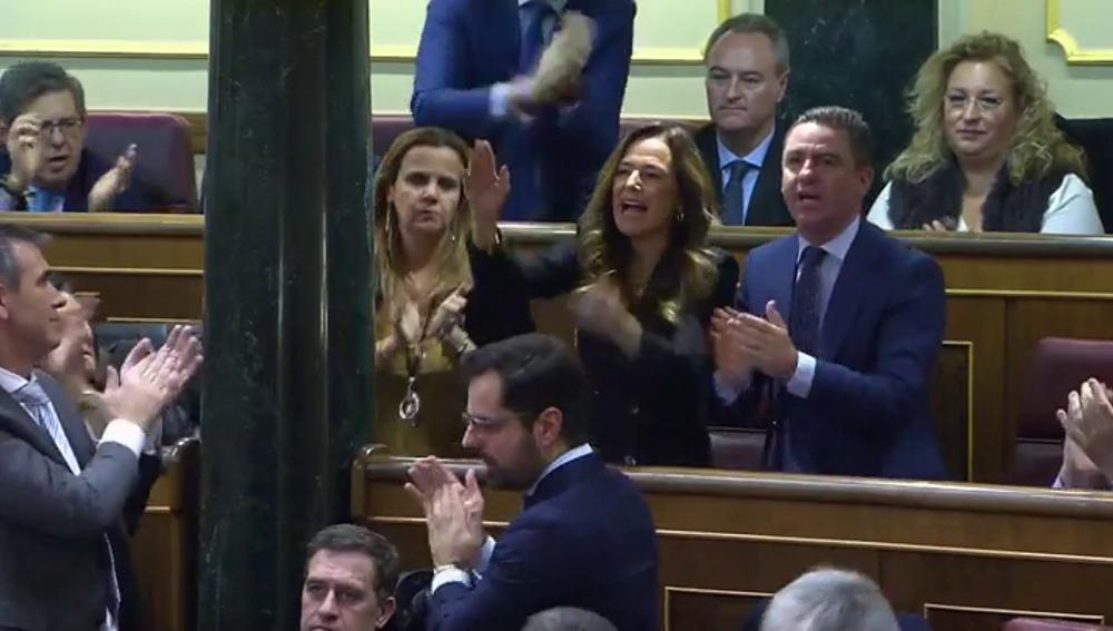 Teresa Jimenez Becerril, víctima de ETA, reprocha a Sánchez su acuerdo con Bildu