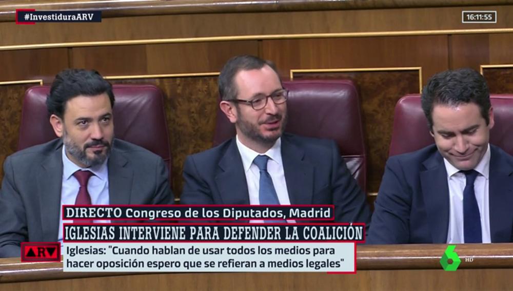 Javier Maroto en el Congreso de los Diputados