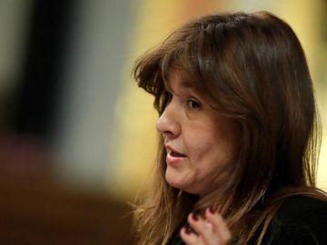 Laura Borrás, presidenta del Parlament catalán