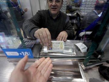 Imagen de archivo de un lotero