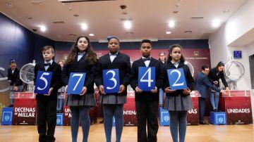 El primer premio del sorteo extraordinario de la lotería del Niño