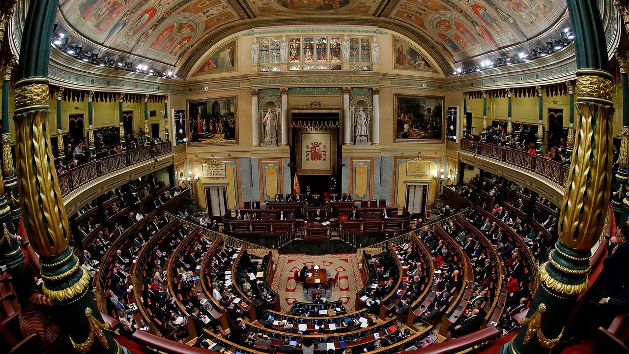 Vista del pleno del Congreso de los Diputados