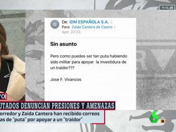 """El hombre que insultó a Zaida Cantera (PSOE) pide disculpas: """"Fue un calentón, utilicé términos inaceptables"""""""
