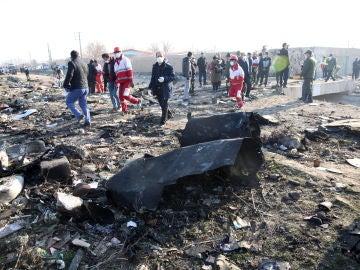 Accidente de avión Irán