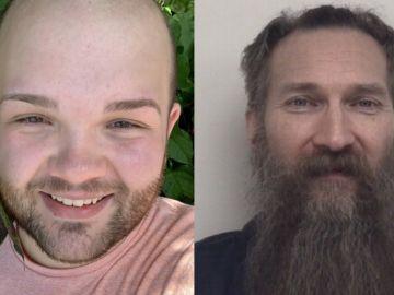 Kevin Bacon (la víctima) y Mark Latunski (el asesino)
