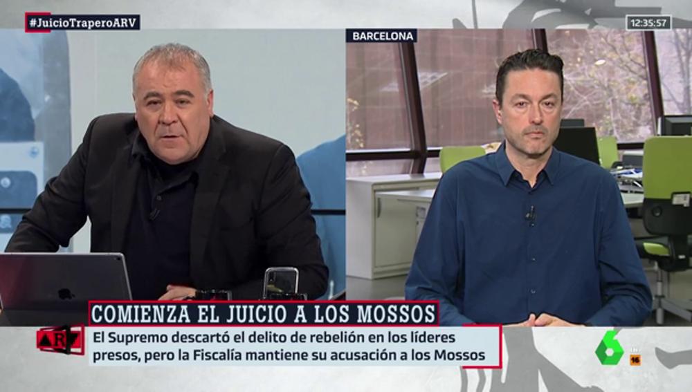 """Toni Castejón, sobre el juicio a la antigua cúpula de los Mossos: """"Que un dispositivo no salga como uno quiere, no quiere decir que sea delito"""""""