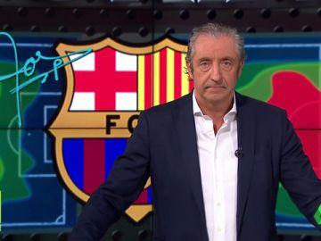 """Josep Pedrerol: """"El Barça ganó 1-0 contra 10 dando 1005 pases. Lo demás son milongas"""""""
