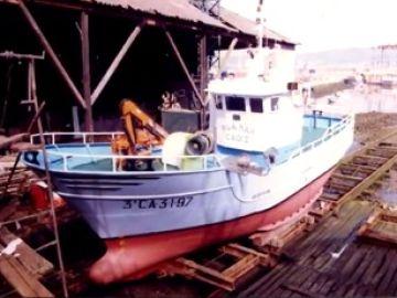 Imagen del pesquero desaparecido en aguas marroquíes