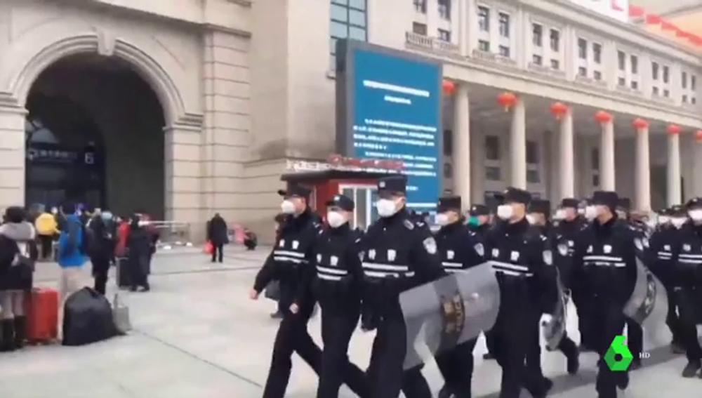 El coronavirus de China provoca el cierre de las ciudades de Huanggang y Ezhou