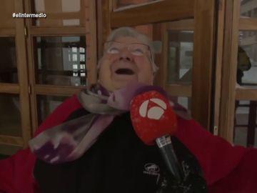 """El 'regodeo' de una vecina de Teruel tras presenciar la caída de una mujer por el hielo: """"¡Qué a gusto me reía!"""""""