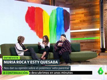 Cristina Pardo, Nuria Roca y Esty Quesada