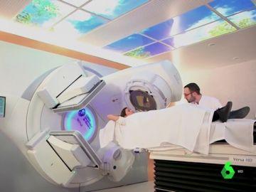 Tratamiento de protonterapia