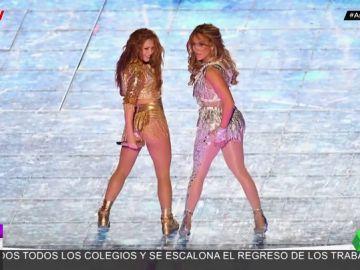 arus Shakira Jennifer López Super Bowl