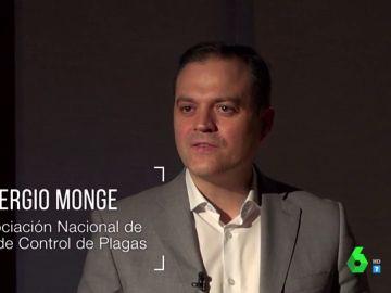 Sergio Monge, de la Asociación Nacional de Empresas de Control de Plagas