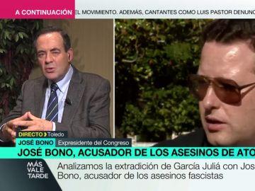 """José Bono: """"Sin aquel Partido Comunista de los abogados de Atocha, de Carmena y Carrrillo, la libertad no habría llegado a España"""""""