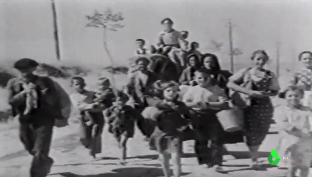 Imagen de archivo de 'la Desbandá'