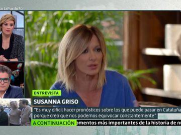 """Susanna Griso: """"JxCat ha sido siempre la copia, pero ERC ha sido muy fiel a su ideario"""""""