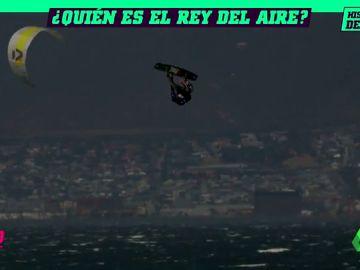¿Quién es el rey del aire?: El mundial de kitesurf desafía a vientos de 55 km/hora