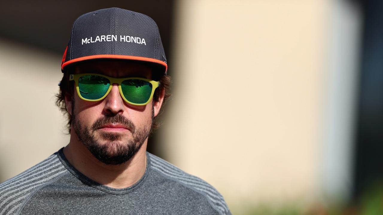 Fernando Alonso cuando McLaren tenía como fabricante a Honda