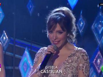 Gisela actúa en los Oscar interpretando un tema de la banda sonora de 'Frozen 2'