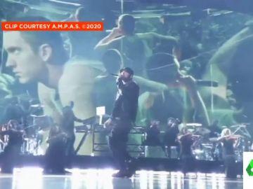 La sorprendente actuación de Eminem en los Oscar que dejó a todo el mundo boquiabierto