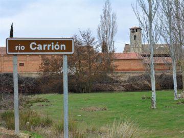 Río Carrión en Palencia